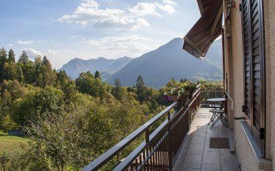 B&B Bellavista e il panorama sulla Valle Brembana